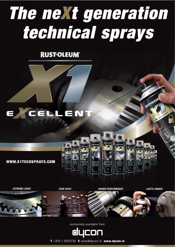Rust-Oleum X1 Technical Sprays